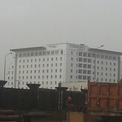 Photo taken at Four Points by Sheraton Lagos by Ali H. on 1/16/2013
