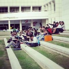 Photo taken at Tel Aviv University   אוניברסיטת תל-אביב by Michal I. on 12/17/2012