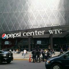 Photo taken at Pepsi Center WTC by Viri B. on 9/29/2012