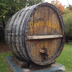 Photo taken at Brotherhood, America's Oldest Winery by Anna W. on 10/6/2012