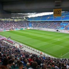 Photo taken at Red Bull Arena by Tommaso S. on 8/17/2014
