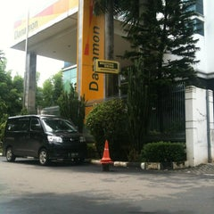 Photo taken at Bank Danamon Bsd by Afif F. on 1/15/2013