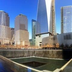 Photo taken at National September 11 Memorial & Museum by David K. on 4/5/2013