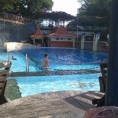 Photo taken at Taman Rekreasi Sengkaling by Angelina Christel P. on 6/12/2014
