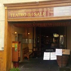 Photo taken at Il Teatro del Sale by Simone L. on 3/21/2014