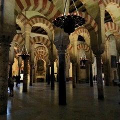 Photo taken at Mezquita-Catedral de Córdoba by .Manu A. on 4/21/2013