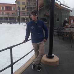 Photo taken at Dercum Square Ice Rink by Courtney H. on 12/16/2012