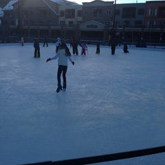 Photo taken at Dercum Square Ice Rink by Courtney H. on 12/23/2012