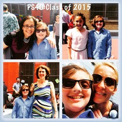 Photo taken at P.S. 40 by Aileen A. on 6/19/2015