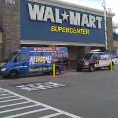 Photo taken at Walmart Supercenter by JC W. on 12/9/2012