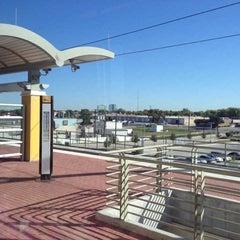Photo taken at Royal Lane Station (DART Rail) by Pam V. on 10/19/2012