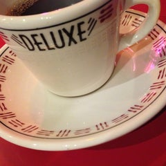 Photo taken at Deluxe Diner by Antoin H. on 2/20/2013
