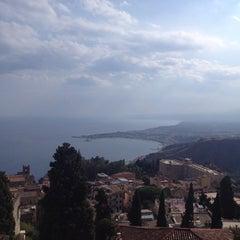Photo taken at Mediterranee Hotel Taormina by Marina S. on 9/13/2014