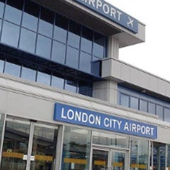 Photo taken at London City Airport (LCY) by Aivis V. on 6/20/2013