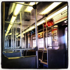 Photo taken at CTA - Halsted by Andres G. on 7/10/2013