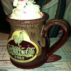 Photo taken at Egg Harbor Cafe by Courtney G. on 12/21/2012