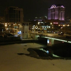 Photo taken at Aloft Milwaukee Downtown by Paul R. on 12/29/2012