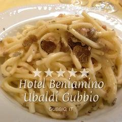 Photo taken at Hotel Beniamino Ubaldi by Luca D. on 8/29/2013