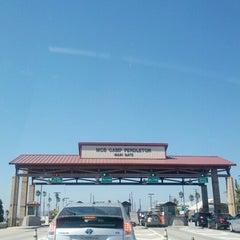 Photo taken at MCB Camp Pendleton - Main Gate by Lisa C. on 9/16/2012
