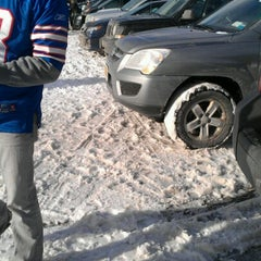Photo taken at Lot 5 Ralph Wilson Stadium by Christina S. on 12/30/2012