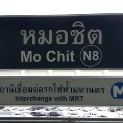 Photo taken at BTS หมอชิต (Mo Chit) N8 by Wee Chong L. on 12/29/2012