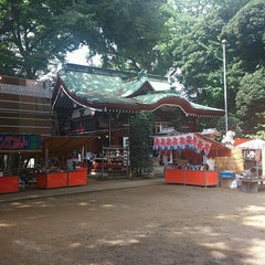 Photo taken at 駒繋神社 by Naoto S. on 9/14/2013