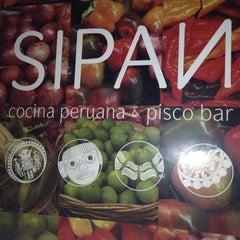 Photo taken at Sipan Cocina Peruana by Gaston E. on 9/21/2013