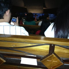 Photo taken at Gereja Santo Alfonsus Rodriguez by Lina D. on 12/24/2012