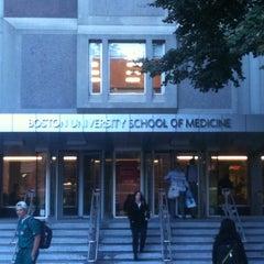 Photo taken at Boston University School of Medicine by Abrar T. on 9/27/2012