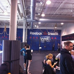 Photo taken at Reebok CrossFit One Gym by Sean L. on 3/31/2013