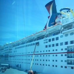 Photo taken at Carnival Ecstasy by Chris G. on 8/12/2013
