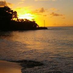 Photo taken at Sandals Halcyon Beach Resort by alex b. on 11/11/2012