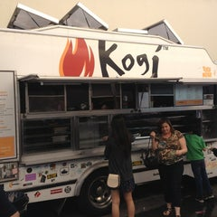 Photo taken at Kogi BBQ Truck by Darin on 2/17/2013