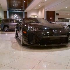 Photo taken at Lexus of Palm Beach by Erik on 10/11/2012