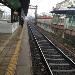 Photo taken at Stazione Novate Milanese by Lorenzo C. on 1/2/2013