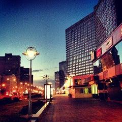 Photo taken at Новый Арбат / New Arbat Street by Vasiliy K. on 6/17/2013