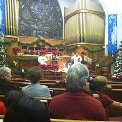 Photo taken at First United Methodist Church by Barry M. on 12/25/2012