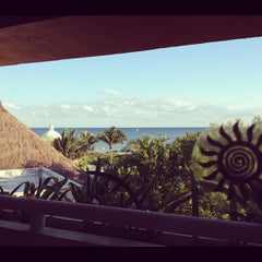 Photo taken at Gran Bahia Principe Tulum by Daniel Z. on 11/22/2012
