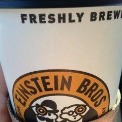 Photo taken at Einstein Bros Bagels by Richard D. on 11/6/2012