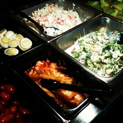 Photo taken at Hibachi Buffet by Juno K. on 1/17/2013