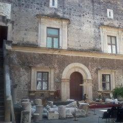 Photo taken at Castello Ursino by Etna 'ngeniousa A. on 7/20/2013