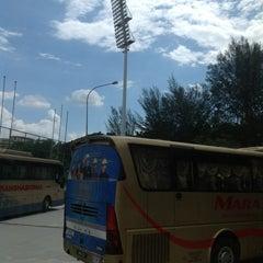 Photo taken at Hentian Duta Bus Terminal by Kakashi H. on 5/7/2013