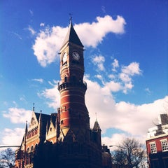 Photo taken at New York Public Library - Jefferson Market by Courtney T. on 1/19/2013
