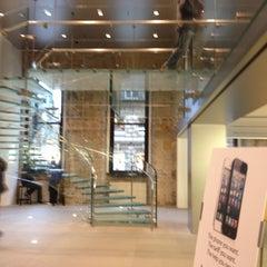 Photo taken at Apple Store, Buchanan Street by Zhanara I. on 11/16/2012