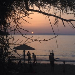 Photo taken at Παραλία Κινίου (Kini Beach) by Maria M. on 8/20/2014