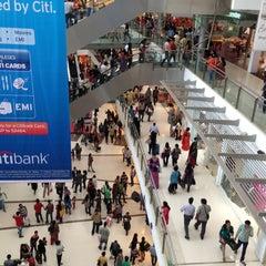 Photo taken at Oberoi Mall by Shriram S. on 1/16/2013