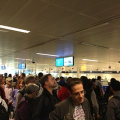 Photo taken at Security/Passport Control - T1 by Ilgar A. on 10/14/2012