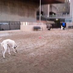 Photo taken at 63rd St Dog Run by Roban K. on 1/19/2013