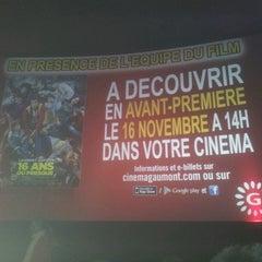 Photo taken at Gaumont Valenciennes by Emmanuel D. on 11/16/2013