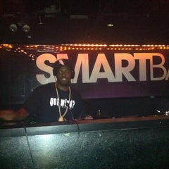 Photo taken at Smart Bar by Czarina M. on 10/4/2012